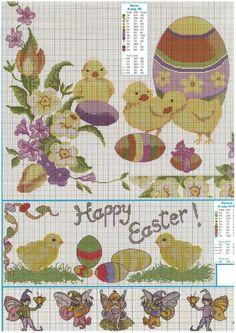 Cross Stitch Easter