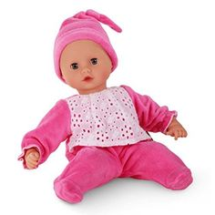 Götz 1320591 Muffin to dress Junge - 33 cm große Weichkörperpuppe mit blauen Schlafaugen und ohne Haare - geeignet für Kinder ab 18 Monaten