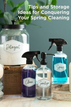 Spring cleaning and organizing tips! 🙌 Tap the image to read today's blog with spring cleaning ideas. 🧹️ Deep Cleaning, Spring Cleaning, Cleaning Hacks, Cleaning Supplies, Organizing Tips, Organization Hacks, Modular Walls, Accessories Display, Wall Racks