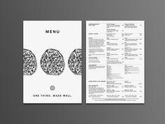 Pizza Workshop identity | visual communication. graphic design. menu design. restaurant menu. layout. grid. hierarchy. typography. illustration.