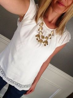 Could use more simple yet cute,  neutral colored inexpensive tops to wear under cardis