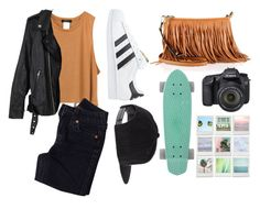 """""""Teen Wolf - Theo California Inspired Outfit"""" by sunshine-hippie-girl ❤ liked on Polyvore featuring Rebecca Minkoff, Eos, adidas Originals, True Religion and UNIF"""