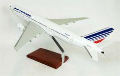 B777-200 Air France - Premium Wood Designs #Commercial #Aircraft premiumwooddesigns.com