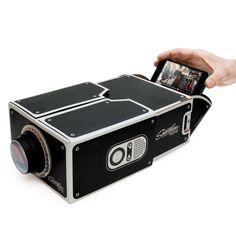 Pappkino von Luckies | Smartphone Projektor