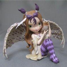 JBG Jasmine Becket-Griffith Flutter Call of the Night Fairy Figurine