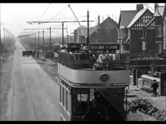 Lytham to Blackpool Trams and Views 1903 Local History, Family History, Blackpool England, St Anne, Light Rail, Family Genealogy, Silent Film, Old Cars, Great Places