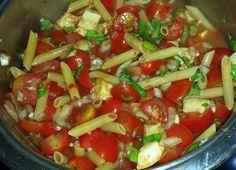 One Pot Pasta Tomate-Mozzarella (Rezept mit Bild)   Chefkoch.de