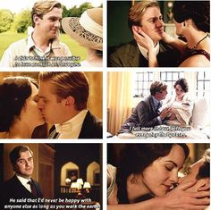 Matthew and Mary Crawley *cries forever*