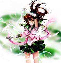 Sailor Jupiter oh my goodness i miss sailor moon - fan art