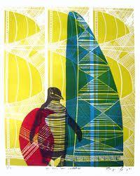 sheyne tuffery - Google Search Art Maori, Marine Life, Bird Art, Printmaking, Birds, Prints, Collections, Painting, Fish