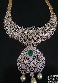 149 Grams Diamond Necklace