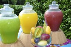 fruity agua frescas