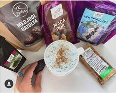 Szafi Reform matcha kakaó és matcha latte (gluténmentes, tejmentes, szójamentes, hozzáadott cukortól mentes, paleo, vegán) – Éhezésmentes karcsúság Szafival Matcha, Latte, Paleo, Spirulina, Beach Wrap, Paleo Food