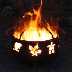 Great Canadian Fire Pit. Costco.