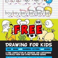 FREE Kids Drawing Book