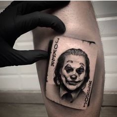 Get For Free The Joker Phone Case 2019 old school frases hombres hombres brazo ideas impresionantes japoneses pequeños tattoo Joker Face Tattoo, Clown Tattoo, Face Tattoos, Forearm Tattoos, Cool Tattoos, Joker Tattoos, Card Tattoo Designs, Tattoo Sleeve Designs, Sleeve Tattoos