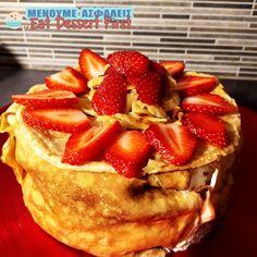 Τούρτα με κρέπες… γαλλική ή μήπως ιαπωνέζικη; – Eat Dessert First Greece Crepe Cake, Crepes, Pancakes, French Toast, Breakfast, Food, Morning Coffee, Essen, Pancake