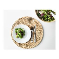 SOARÉ Place mat - IKEA Could be cute as a table centerpiece mat for the flowers.
