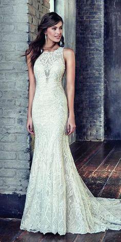 Bridal Inspiration: 27 Rustic Wedding Dresses ❤ See more: http://www.weddingforward.com/rustic-wedding-dresses/ #weddingforward #bride #bridal #wedding