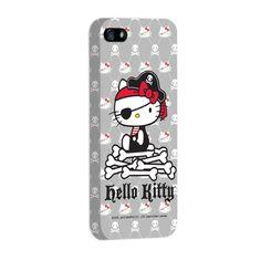 Capa de iPhone 5 Hello Kitty - Pirate