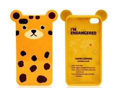 Case for a Cause: Animal iPhone Cases by Anicase (4/4S) from Monet Mazur on OpenSky  //  good gift. definitely cute and kind of harajuku. it has a story on the inside of the case about the endangered animal it represents.