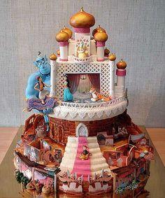 Aladdin Kuchen - Absolut Perfekt und ich werde ihn nie so nachmachen können XD