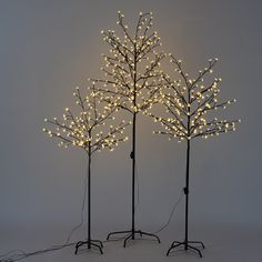 Create a fantastic spectacle of glowing light with this decorative LED tree!