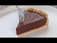 Η πιο εύκολη Τάρτα Σοκολάτας (Χωρίς Ψήσιμο) - No Bake Chocolate Tart - YouTube Chocolate Pies, No Bake Desserts, Food To Make, Sweet Tooth, Biscotti, Sweet Treats, Oven, Deserts, Cooking Recipes