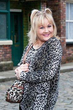 Lisa George Born October 1973 is an actress who has played Beth Sutherland (née Tinker) in Coronation Street since August Lisa George, Coronation Street Cast, British Drama Series, Eastenders Actresses, Manchester Home, Street Girl, Leopard Print Top, Female Actresses, Cherished Memories