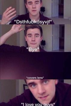 This was defiantly the saddest part of the whole video! I'll miss ya on o2l but I still respect your decision cause I guess everyone has to move on sometime in their lives... Love ya Connor!!