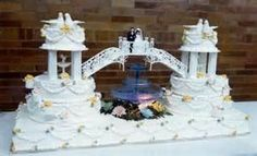 wedding cakes with fountains - - Yahoo Image Search Results