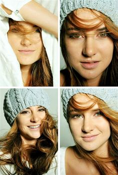 Shailene Woodley gorg hair and makeup