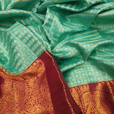 Temple of Sarees Celebrates only fine quality Sarees each is unique with variety from Original Kanchipuram silk to Designer sarees by the best professionals Pattu Sarees Wedding, Indian Bridal Sarees, Wedding Silk Saree, Silk Saree Kanchipuram, Organza Saree, Saree Blouse Neck Designs, Blouse Designs, Wedding Saree Collection, India Wedding