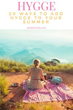 I am in love with Hygge. Thankfully I can enjoy it just as much in summer! Here is a list of 20 easy ways to have a cozy, intimate, relaxing, and fun summer with Hygge!