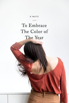 pantone named marsala 2015's color of the year. curious about ways to incorporate it into your life? click through for 6 easy tips.