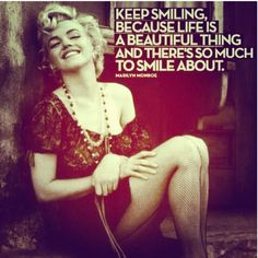 Thats y I'm smiling all the time....I just love it...haters...when they see me smilin make their live miserable...worth it.....