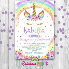 71 best personalised invitations images on pinterest birthday
