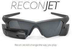 Les lunettes à réalité augmentée Recon Jet