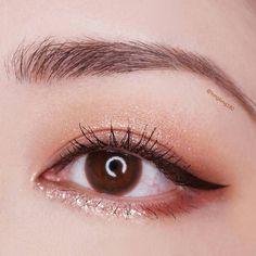 #Korean Eye Make Up #longlong180 Pin By #Akiwarinda