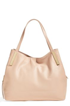 Vince Camuto, Teri Leather Tote in Roebuck, $250 on sale for $125 via Nordstrom Rack