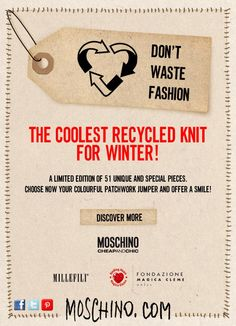 Choose the coolest Recycled Knit for winter!