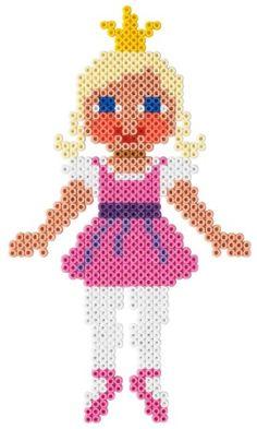 Ballerina / Hama perler beads  / Bügelperlen