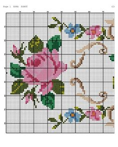 1 million+ Stunning Free Images to Use Anywhere Embroidery Stitches Tutorial, Free To Use Images, Cross Stitch Rose, Stitch Patterns, Diy And Crafts, Projects To Try, Kids Rugs, Sewing, Floral