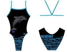 Design #326240 at Splish. Dolphin, water competitive swim suite