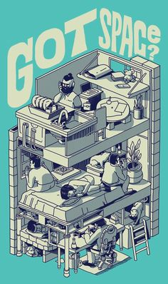 Creative Illustration, Copete, and Cohete image ideas & inspiration on Designspiration Poster Layout, Dm Poster, Isometric Art, Isometric Design, Web Design, Design Art, Japan Design, Graphic Design Illustration, Digital Illustration