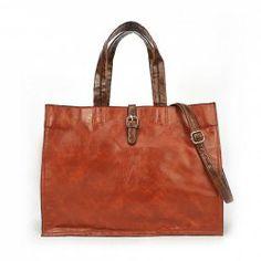 $12.96 Casual Elegant Women's Work Shoulder Bag With Solid Color and Belt Design