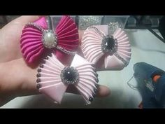 Tutorial Sweety Bow / Dasi Yang Manis - YouTube