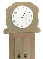 Hickory Dickory Dock : Music & Upcycled Craft Activity