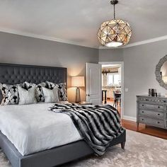 Warm and cozy, 2 important factors to keep in mind when designing your bedroom! Captured by Marcel Photography