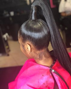 You'll Love These Fun Ponytail Hairstyles Weave Ponytail Hairstyles, Ponytail Styles, My Hairstyle, Hairstyle Ideas, Hair Ideas, Hair Ponytail, Baddie Hairstyles, Love Hair, Gorgeous Hair